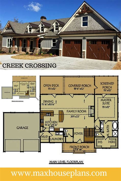 bungalow with basement house plans house plan bungalow house plans with walkout basement walkout luxamcc