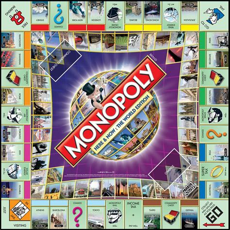 Monopoli Monopoly International monopoly monde