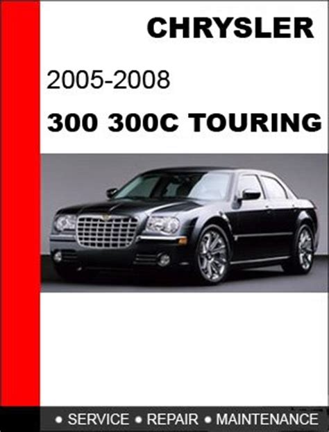 2005 2006 2007 2008 chrysler 300 300c service repair manual cd