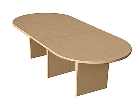 Maple Conference Table Used 10 Racetrack Conference Table Maple Laminate