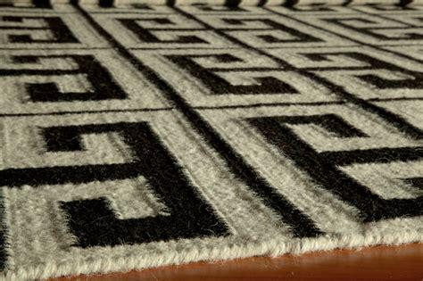 black key rug district17 laguna key rug in black flat weave rugs patterned rugs fiber rugs