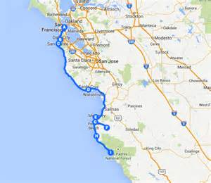 california coast drive map pacific coast highway san diego to los angeles map
