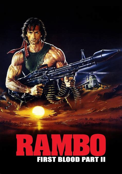 rambo film poster rambo first blood part ii movie fanart fanart tv