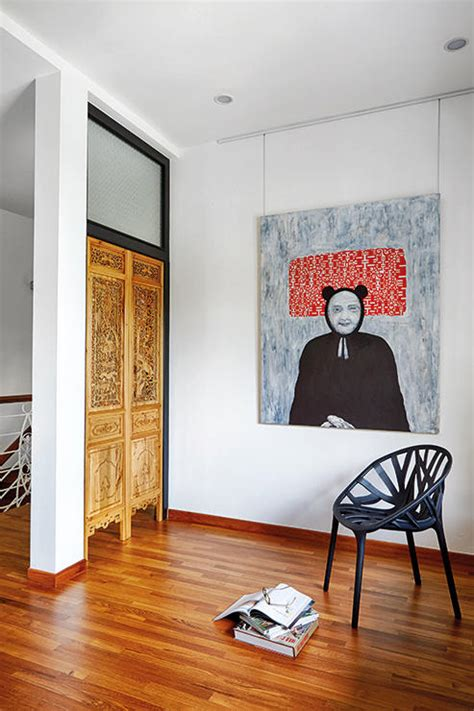 We love the industrial/ mid century Modern/ Peranakan