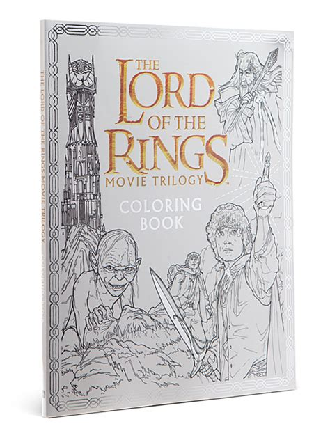 lord of the rings coloring book the lord of the rings trilogy coloring book