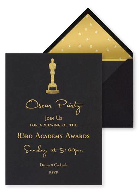 Academy Awards Invitation Template best 25 oscar ideas on