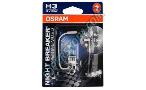 Lu Osram H3 Nbr Unlimited Nbu 12v 55w Berkualitas Oxh3nbu h3 osram 12v 55w breaker unlimited bulb set superskoda