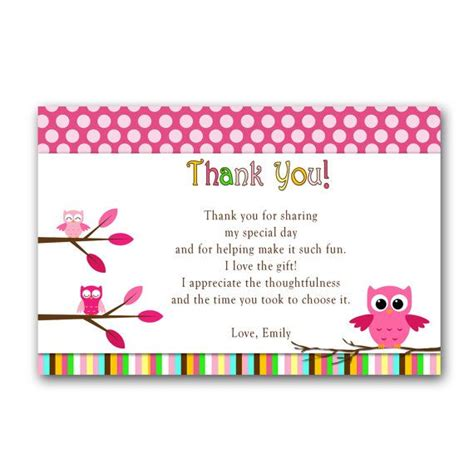 Owl Themed Baby Shower Thank You Cards 43 best owl ideas birthday baby shower images on