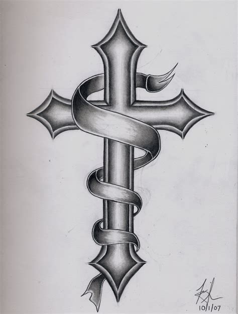 cross back tattoo designs images for gt catholic cross designs for