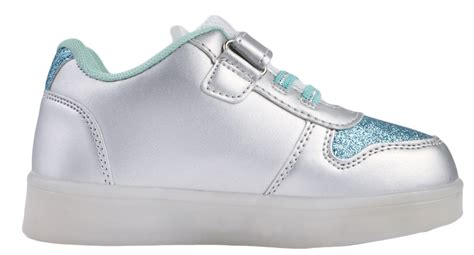Elsa Light Up Shoes by Disney Frozen Led Light Up Trainers Usb Elsa