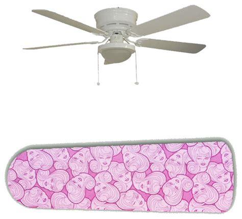 high style on pink 52 quot ceiling fan and l