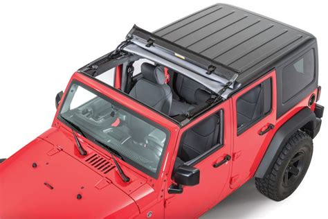 Jeep Sunrider Soft Top Bestop 52450 35 Bestop 174 Sunrider 174 For Hardtop In Black