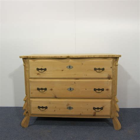 Vintage Drawers by Antique Pine 3 Drawer Chest Of Drawers