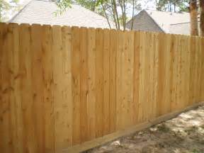 wood fences kingwood fence co inc