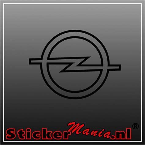 Opel Logo by Opel Logo Sticker Opel Stickermania Nl