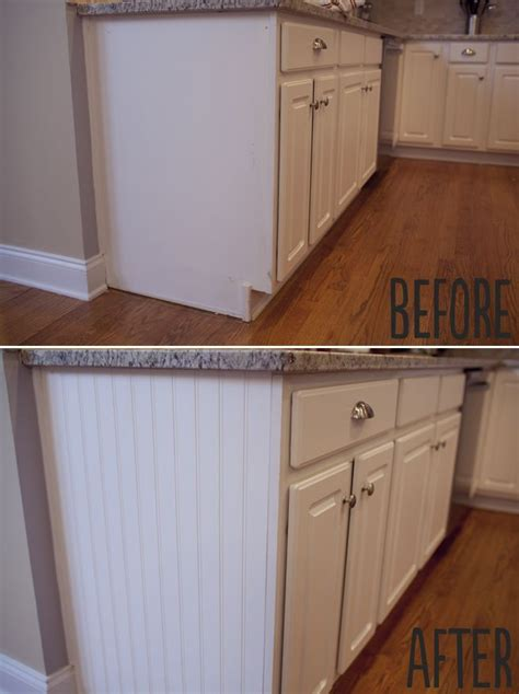 adding beadboard to kitchen cabinets image result for diy white wainscoting on kitchen island