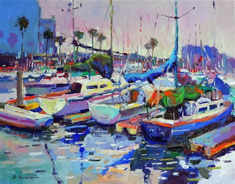 28 paintings for sale buy original archive original buy original by suren nersisyan painting boats