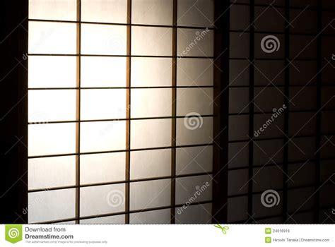 Paper Door by Paper Sliding Door Royalty Free Stock Image Image 24016916