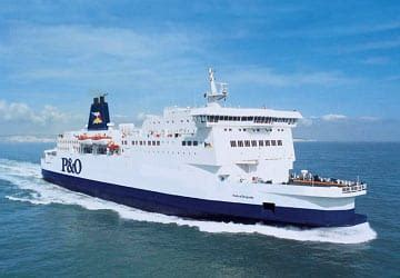 ferry boat uk belgium p o ferries pride of burgundy ferry review and ship guide