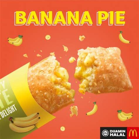 mcdonalds ice blended ribenabanana pie