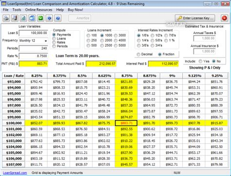 Download Free Loan Calculator 4.7.1
