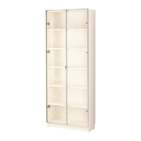 Ikea White Bookcase With Glass Doors Ikea White Bookcase With Doors
