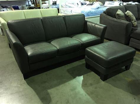 chateau d ax italian leather sofa chateau d ax italian design grey leather upholstered sofa
