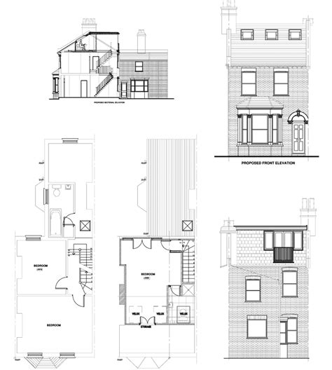 dormer floor plans victorian standard dormer right hand stairs exle