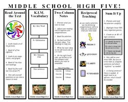 Printable Bookmarks For High School Students | 8 best images of middle school posters printable 12