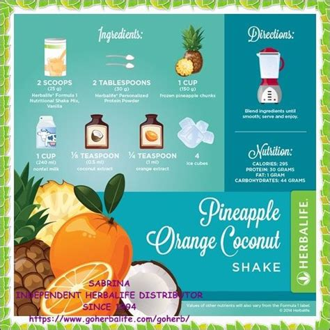 1 protein shake a day formula 1 herbalife and different recipes on