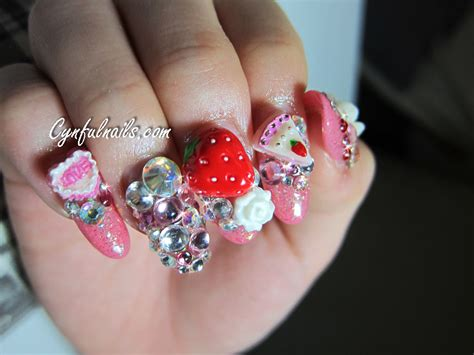 3d Nails by Nail Designs 3d Nail Designs