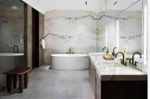 Modern Bathroom Walls 10 Spectacular Rooms With Marble Walls