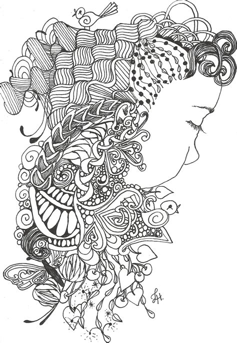 printable coloring pages zentangle free coloring pages of zentangle