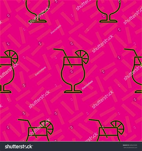 juice pattern vector pattern background texture cocktail shake drink stock