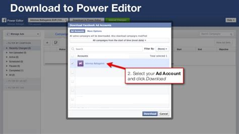 facebook ads power editor tutorial how to create multi product ads with facebook power editor