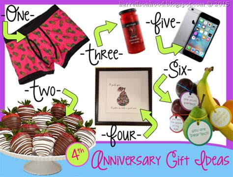 4th fourth anniversary gift ideas traditional gifts for wedding anniversary diy