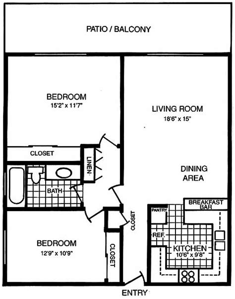 san carlos dual master suite floorplans san carlos 2 bedroom floorplans