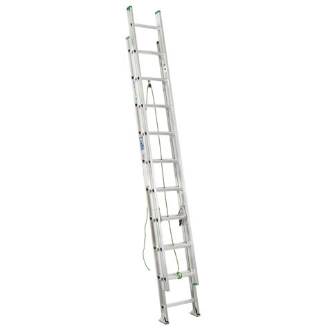 Extension Ladders At Home Depot by Werner Aluminum Extension Ladder Grade 2 225 Load