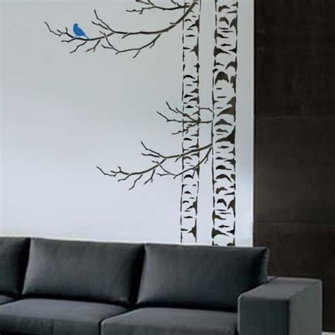 tree template for wall bathroom wall decorations stencils for walls