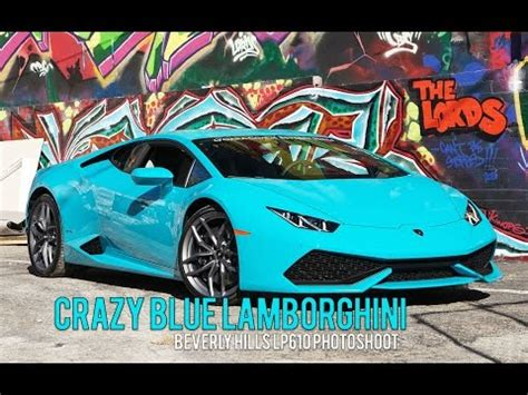 Lamborghini Huracan Poster Blue Glauco Lamborghini Huracan Is A Smurf S Poster