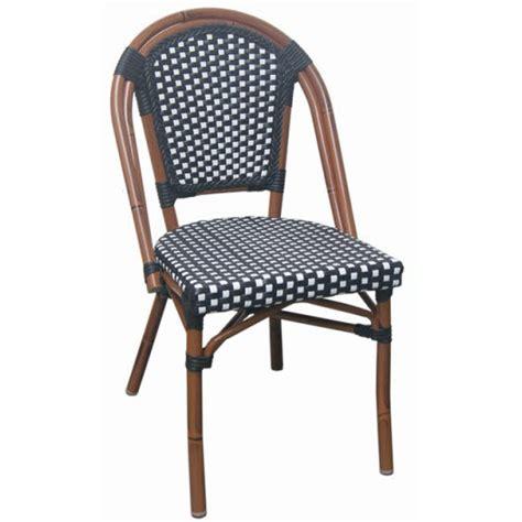 aluminum bamboo patio chairs aluminum bamboo patio chair with black white rattan