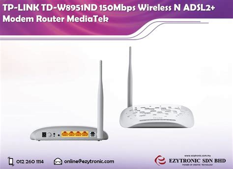 Modem Router Tp Link Td W8951nd tp link td w8951nd 150mbps wireless end 3 6 2018 10 00 am