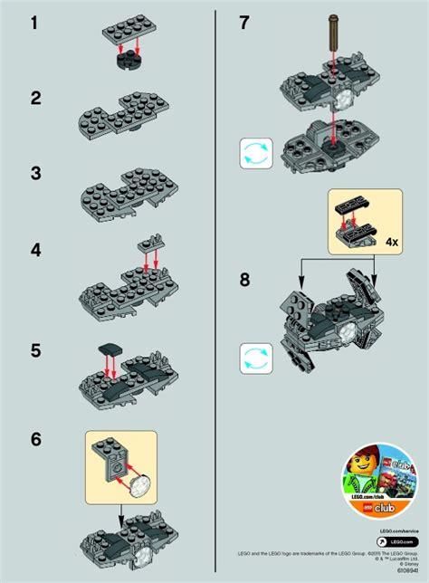 lego tie advanced prototype 30275 wars