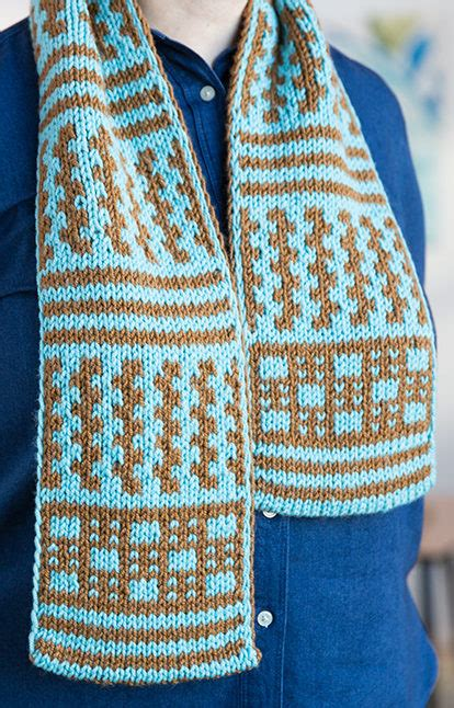 free knitting pattern scarf double knit colorful scarf knitting patterns in the loop knitting