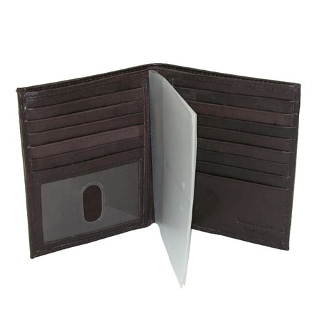 Bifold Wallet mens leather deluxe bifold wallet by paul