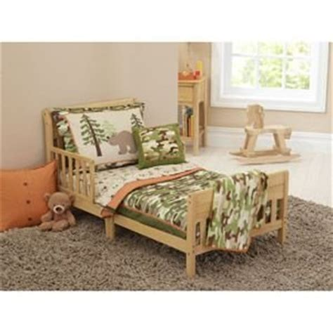 Camo Crib Set For Boy by 4pc Toddler Boy Outdoor Camo Bedding Set