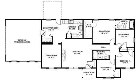 2000 sq ft single story house plans house plans 2000 sq ft one floor home deco plans