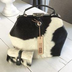 Tas Ed Handbag Kt8825rd white cowhide purse unique cow hide handbag