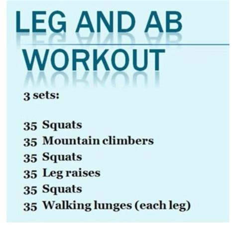 leg and ab workout crossfit workout excersie for legs