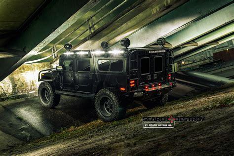 Black Destroy 1 hummer h1 tactical search destroy tier 1 for sale evs